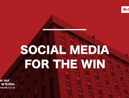 Social Media For The Win